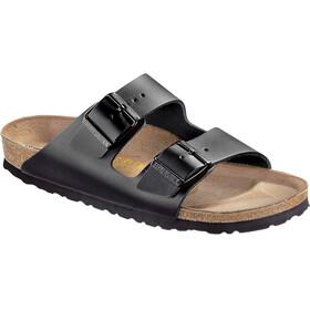 Birkenstock Arizona Sandals Unisex Natural Leather black